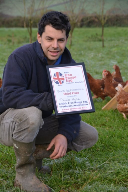 Black Dog Free Range Eggs come third in national competition.